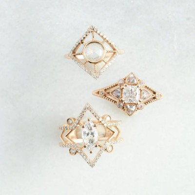 12 Art Deco Rings That Are Absolutely Gorgeous