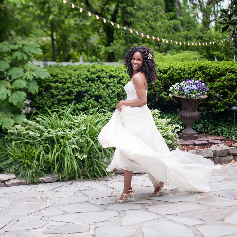 You are never too old to twirl!!! And this gorgeous @bhldn gown makes
