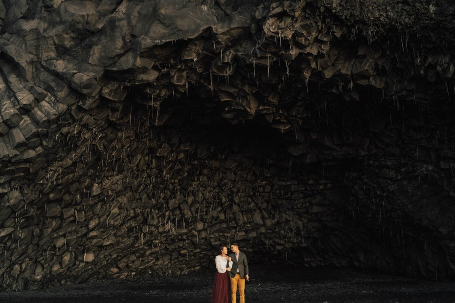Gorgeous elopement in Iceland