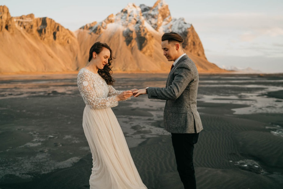 Ring exchange in Iceland