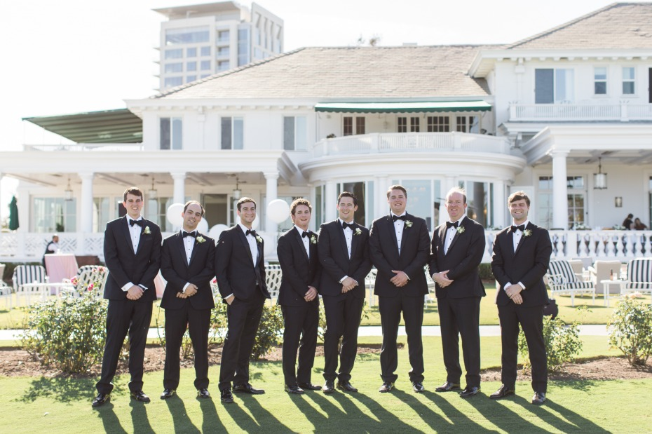 Classic and timeless look for groomsmen