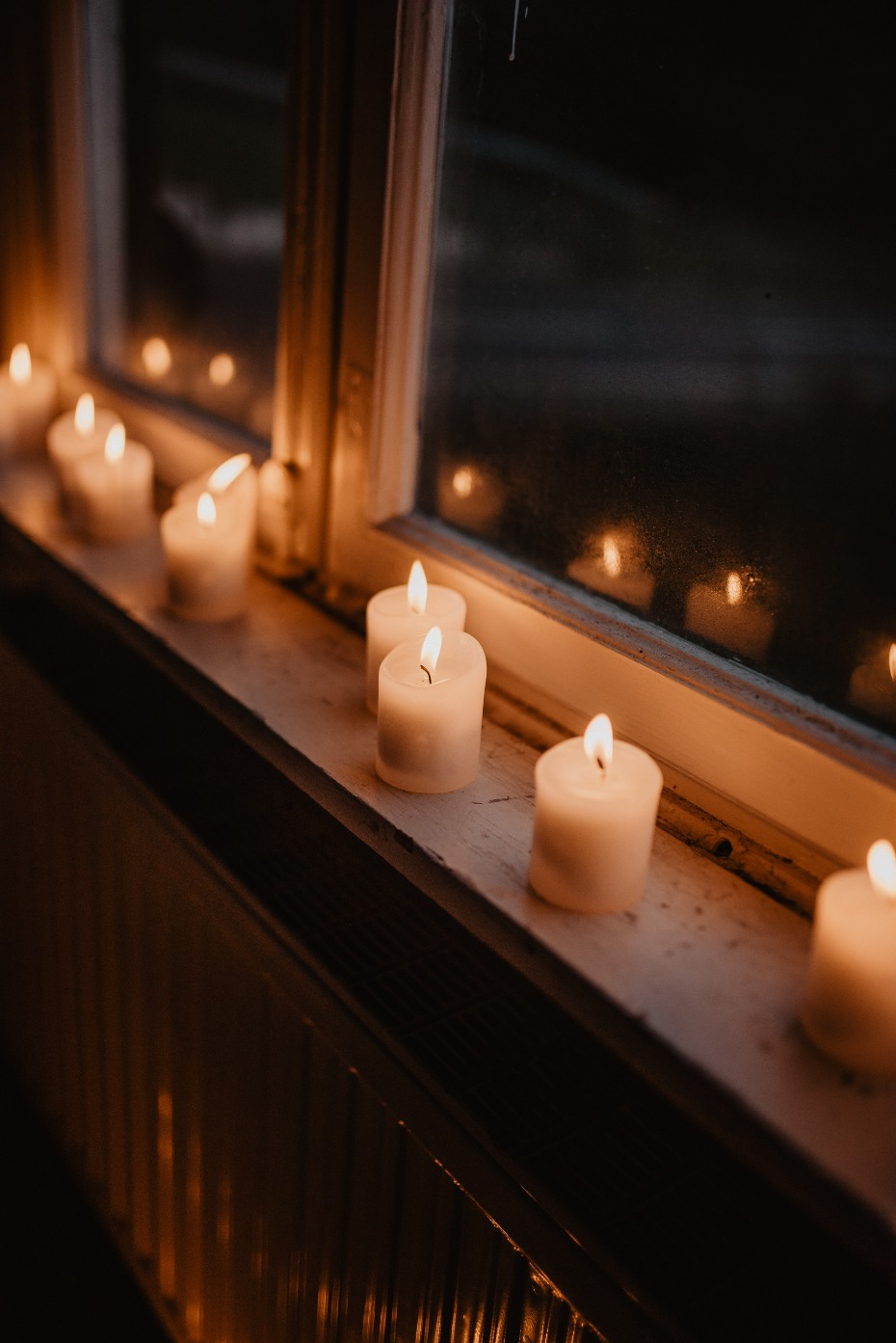 Candles make everything more romantic