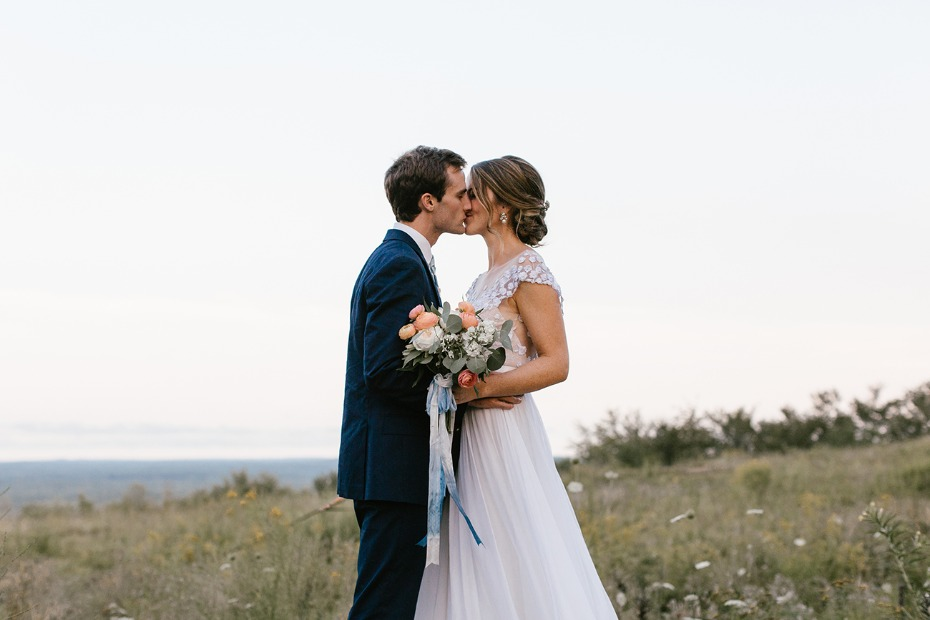 Elegant outdoor wedding in Maine