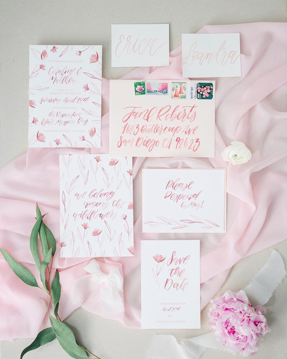 Wedding Stationery Four Things Paper