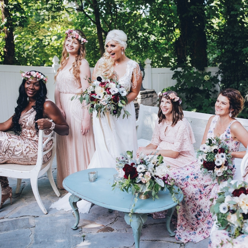 #bohoglam at its finest - we can't stop swooning over