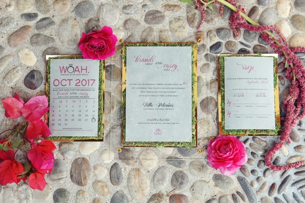 How To Have a Trendy Emerald And Pink Wedding In Mexico