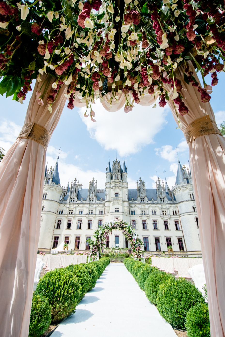 dream wedding at Chateau Challain