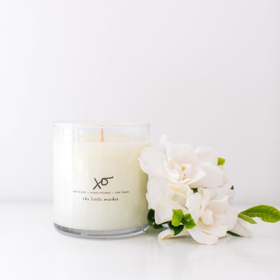The Little Market XO Soy Based Candle