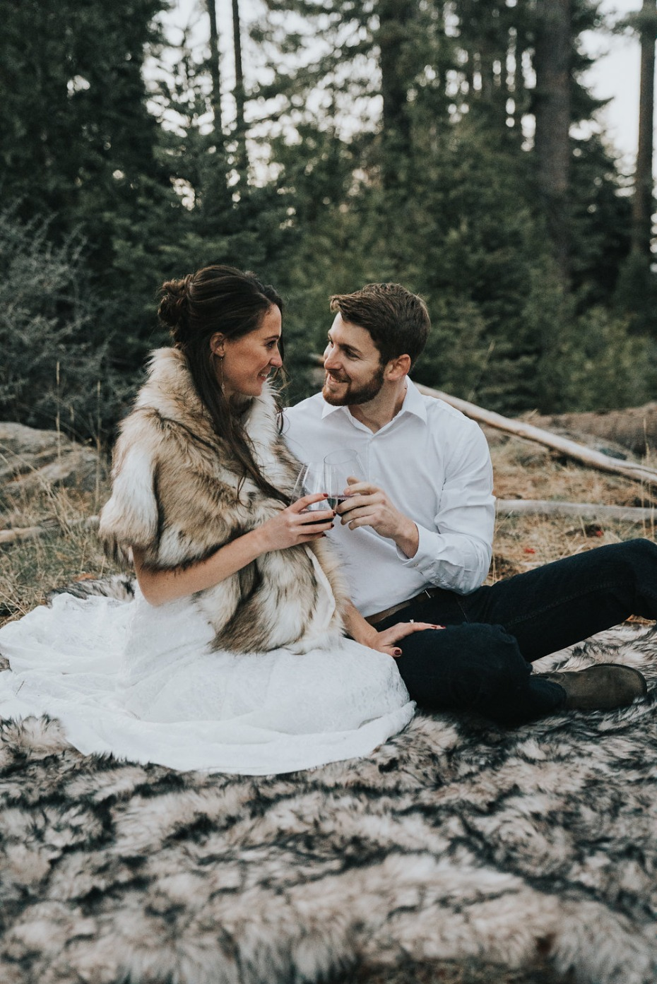 mountain chic elopement