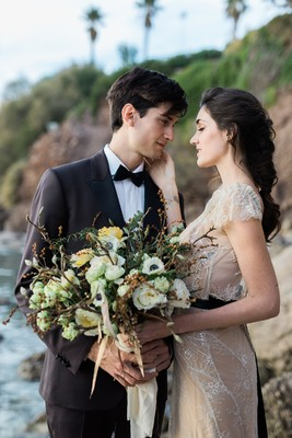 Gold And Yellow Wedding Ideas In Greece