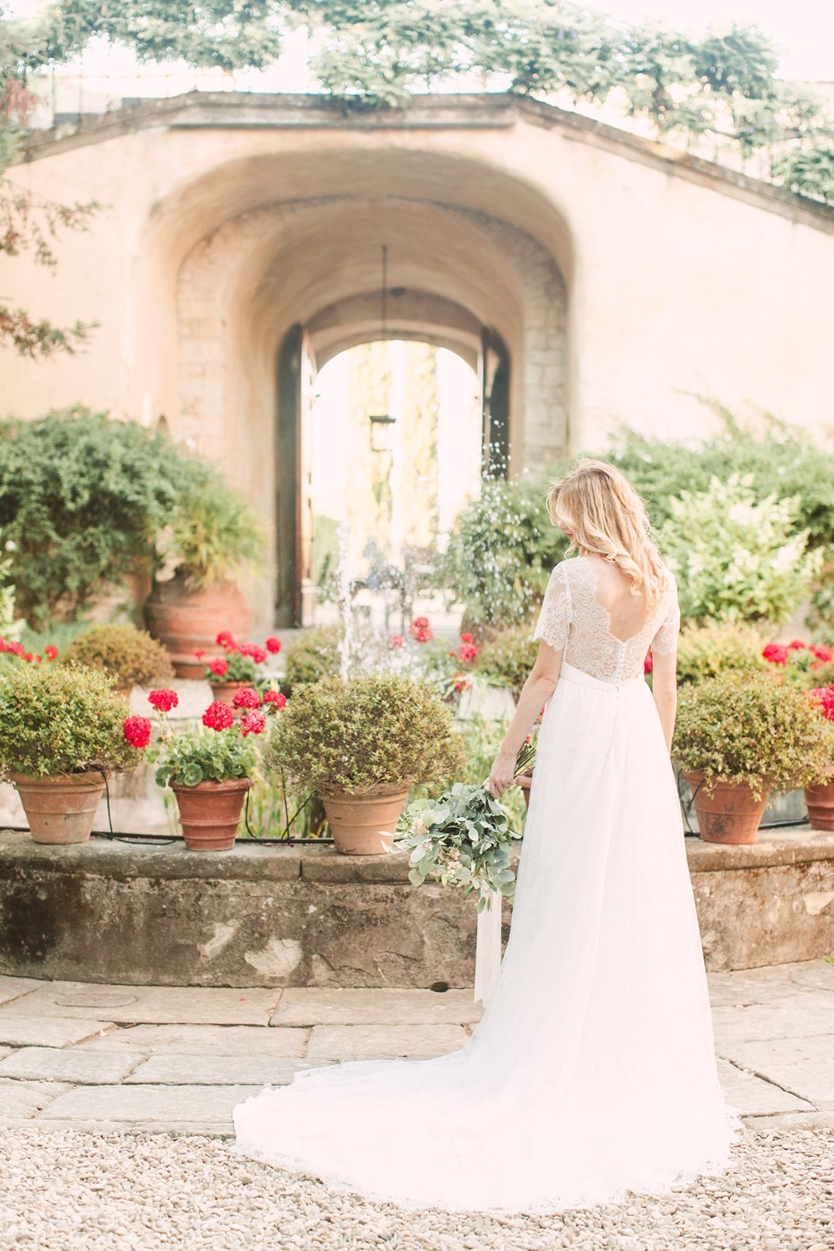 a romantic wedding venue in Florence Italy