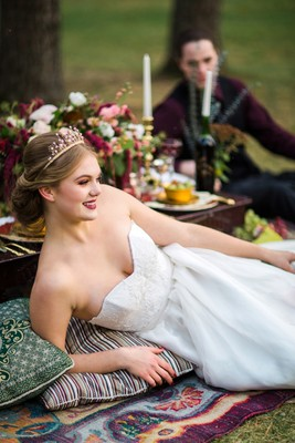 This Royal Boho Elopement Will Inspire Your Regal Side