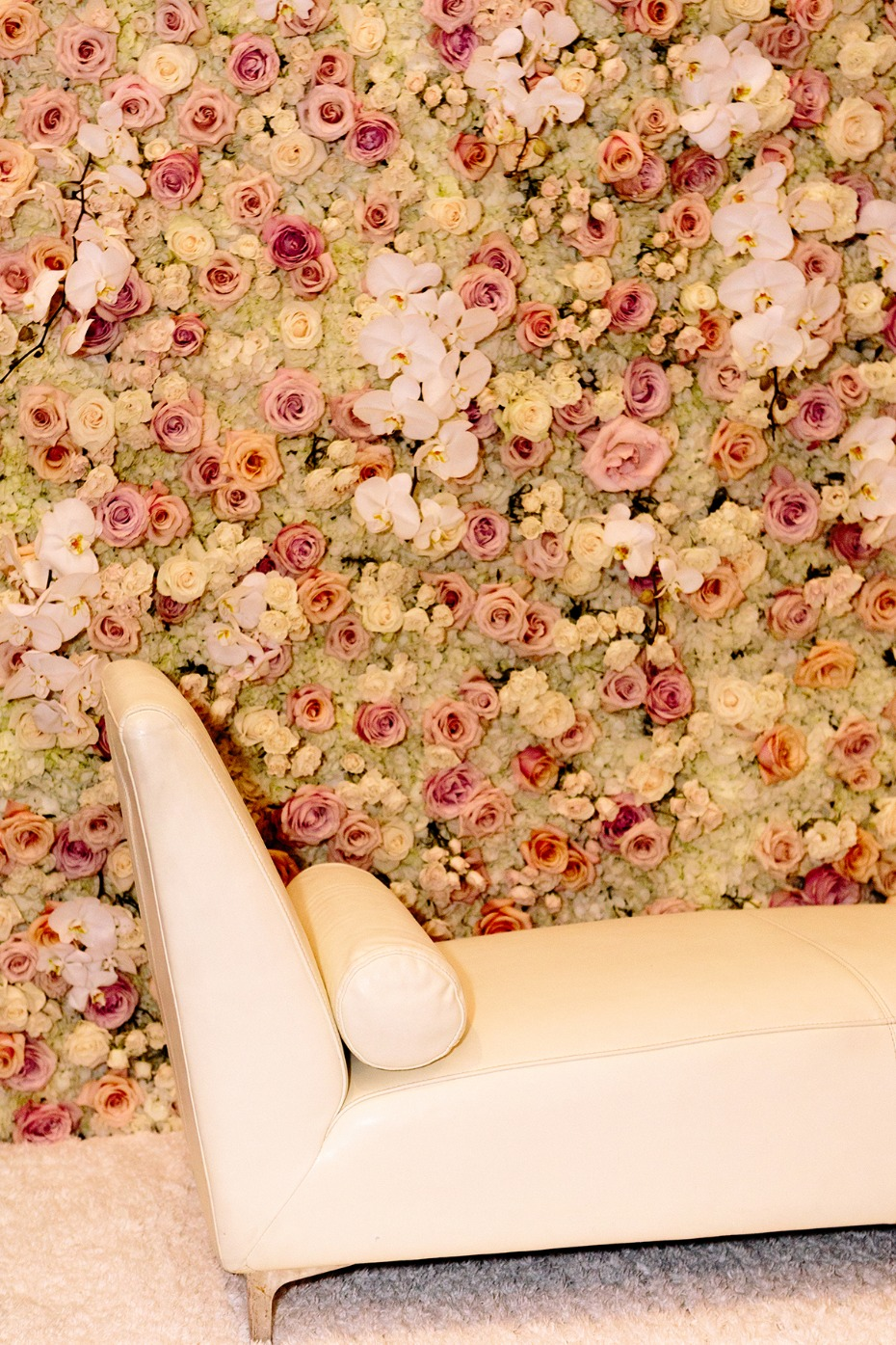Flower wall photo booth backdrdop