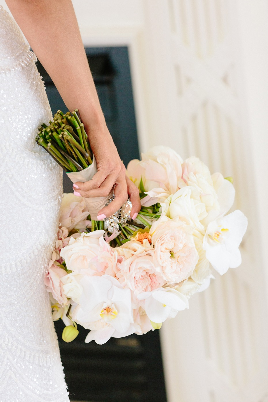 Blush and ivory bouquet