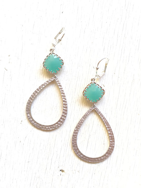 Bold and feminine, these earrings are lovely to make a statement!