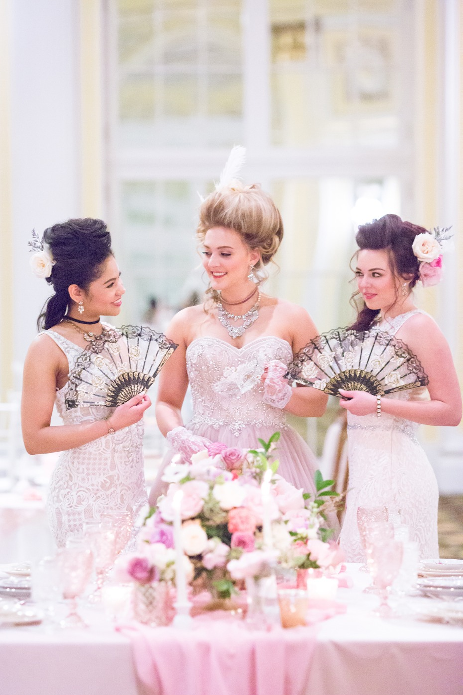 Marie Antoinette themed wedding ideas
