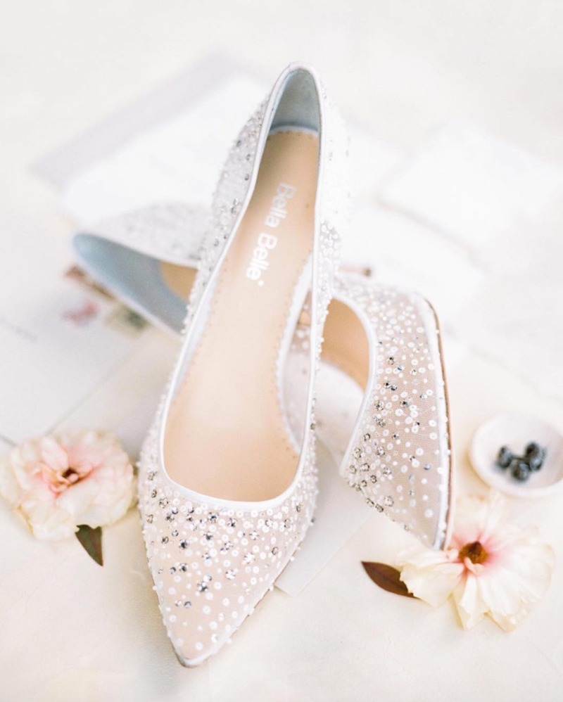 All our shoes are handmade to perfection to ensure the highest quality for our brides. See more at @bellabelleshoes