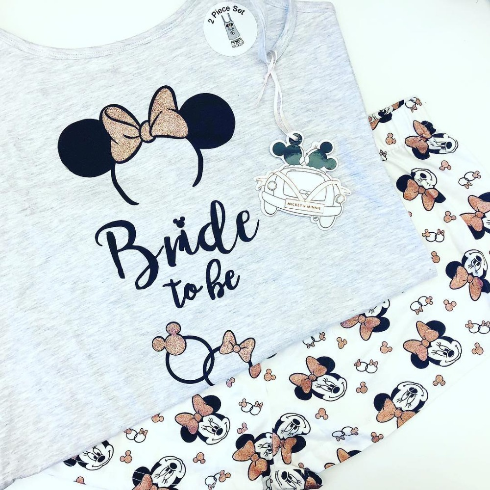 Dream-Worthy Disney Pajamas for the Bride-to-Be