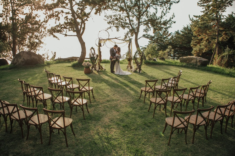 Gorgeous Big Sur ceremony