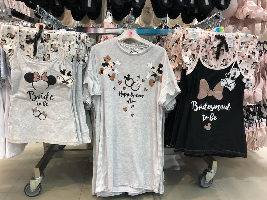 Disney Bride Pajama Sets at Primark UK Photo from Disneyfind