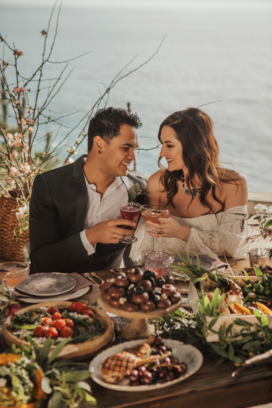 Bohemian wedding ideas in Big Sur