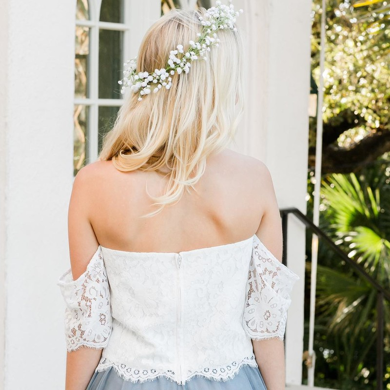 The most beautiful boho top we've ever created for the best bridesmaid babes.💐