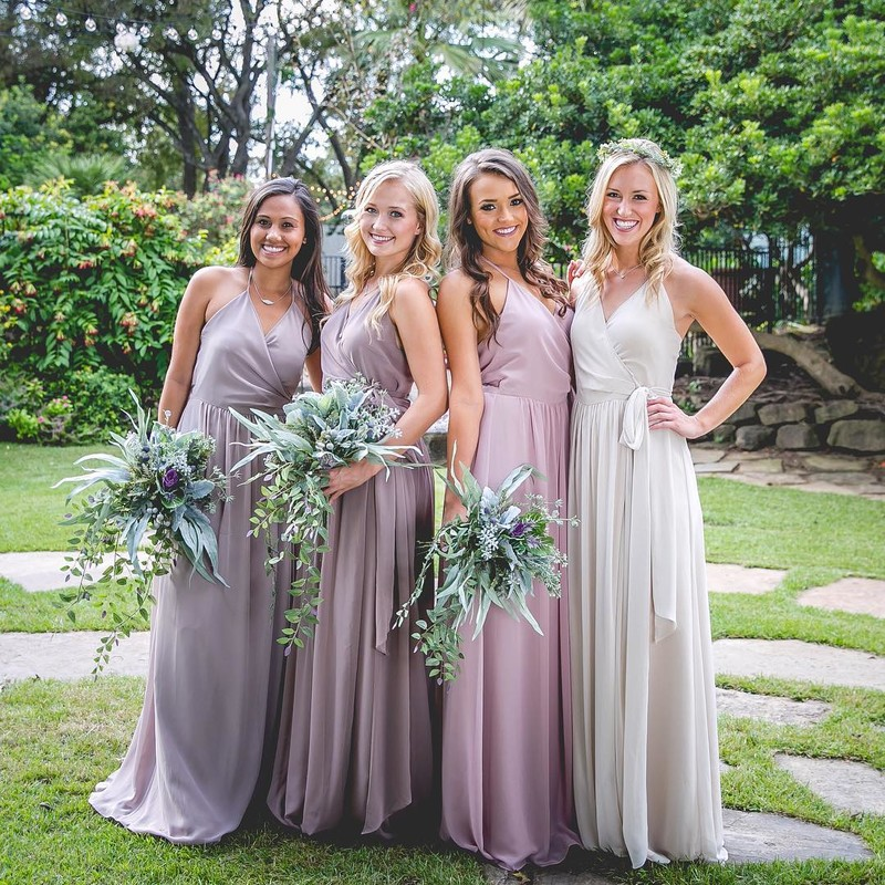 The happiest bridesmaids are the prettiest bridesmaids.💕