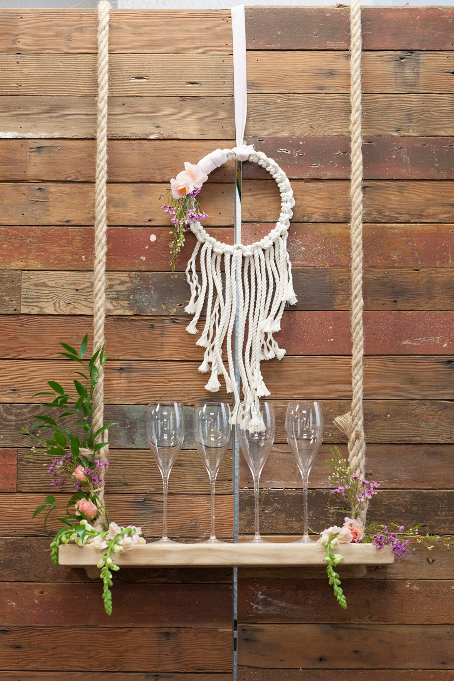 rustic chic with a boho vibe for your winery wedding