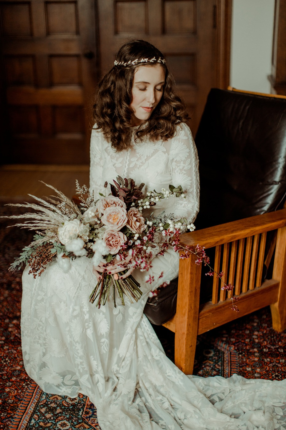 unique vintage bridal style