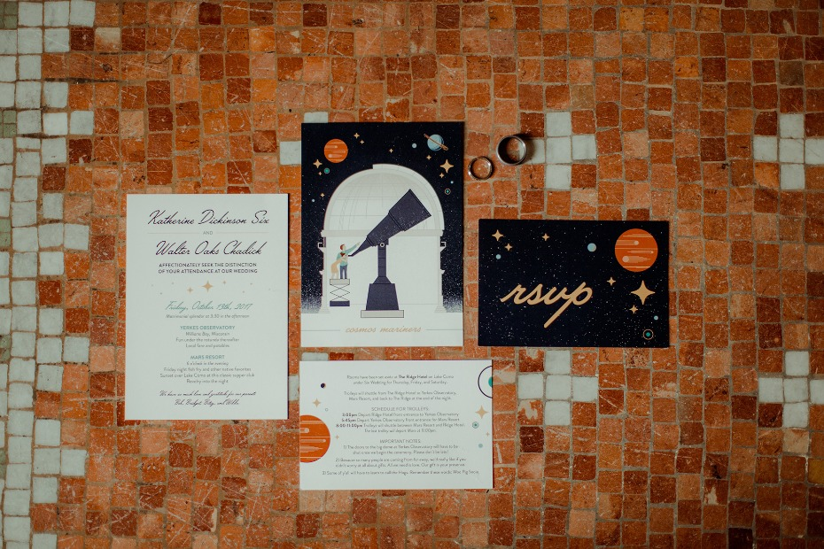 how to have a wedding at an observatory