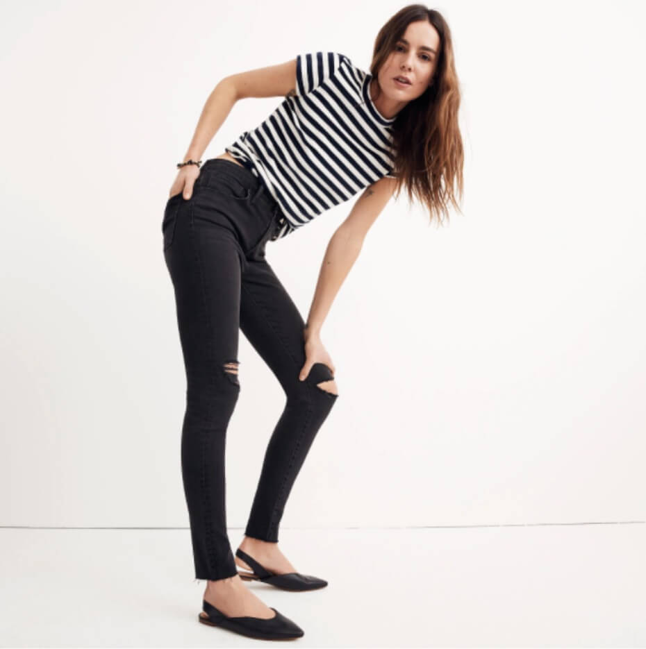 the ebst jeans for tall girls