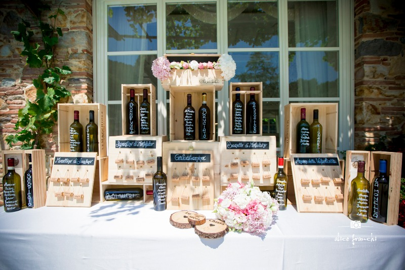 #happymonday from #VallediBadia! We are throwing it back to an open air 'Tableau de mariage' with a wine-based theme at Valle Di