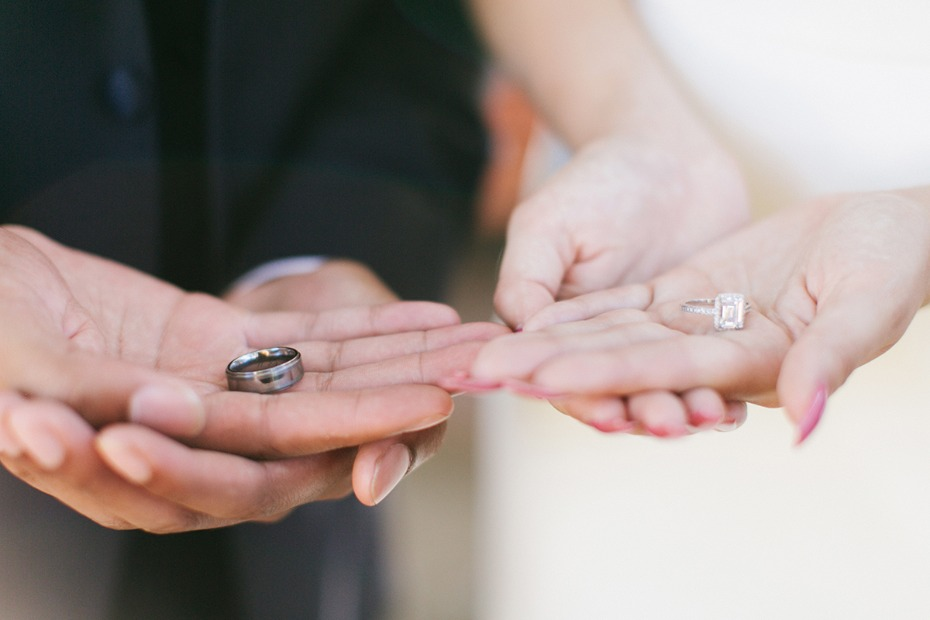 His and hers rings