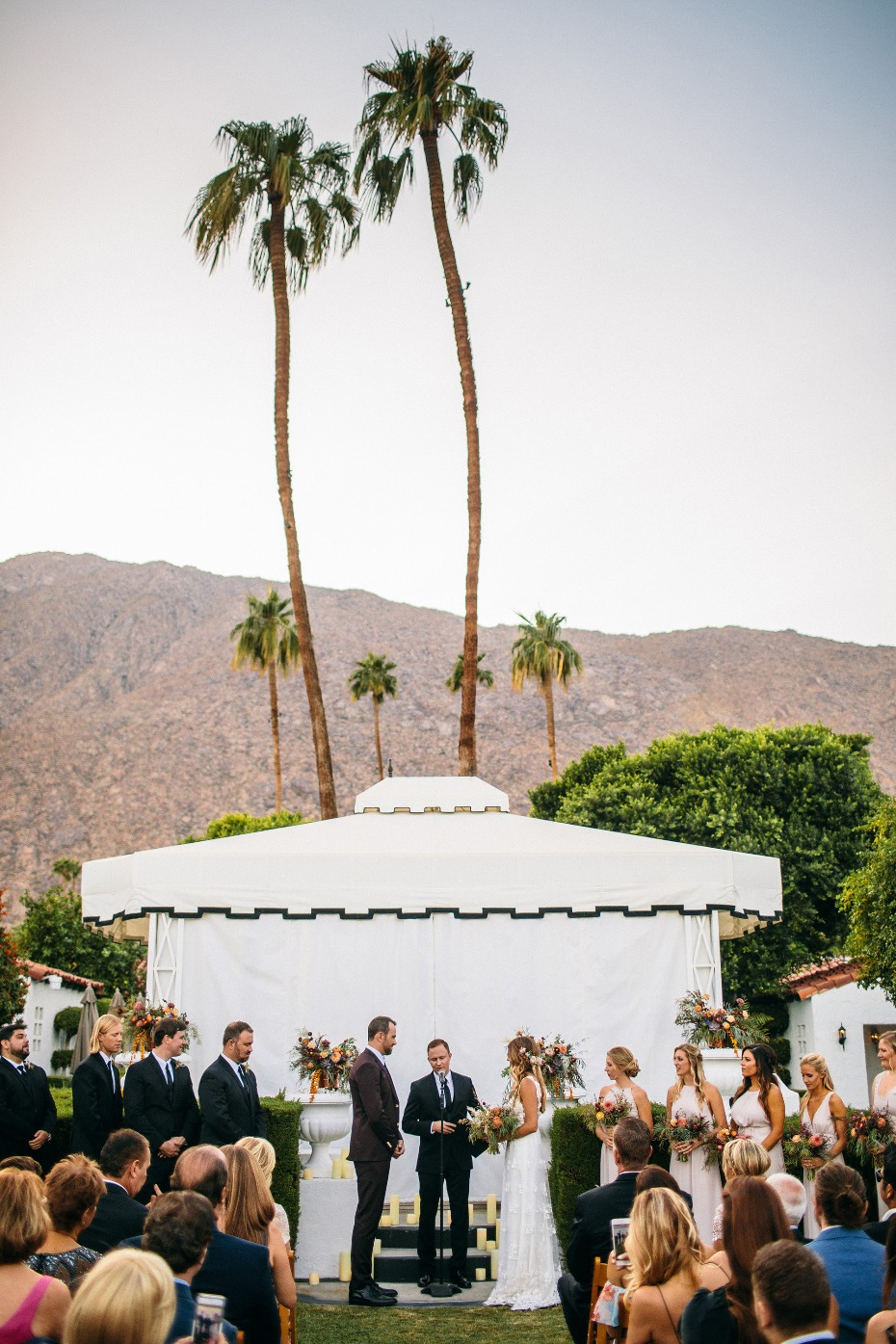 Ceremony at the Avalon in Palm Springs