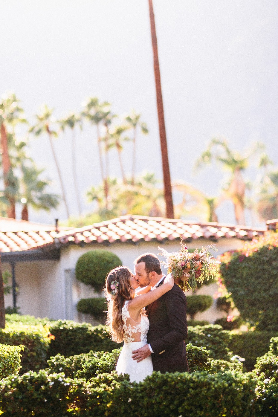 Beautiful Palm Springs Wedding at the Avalon