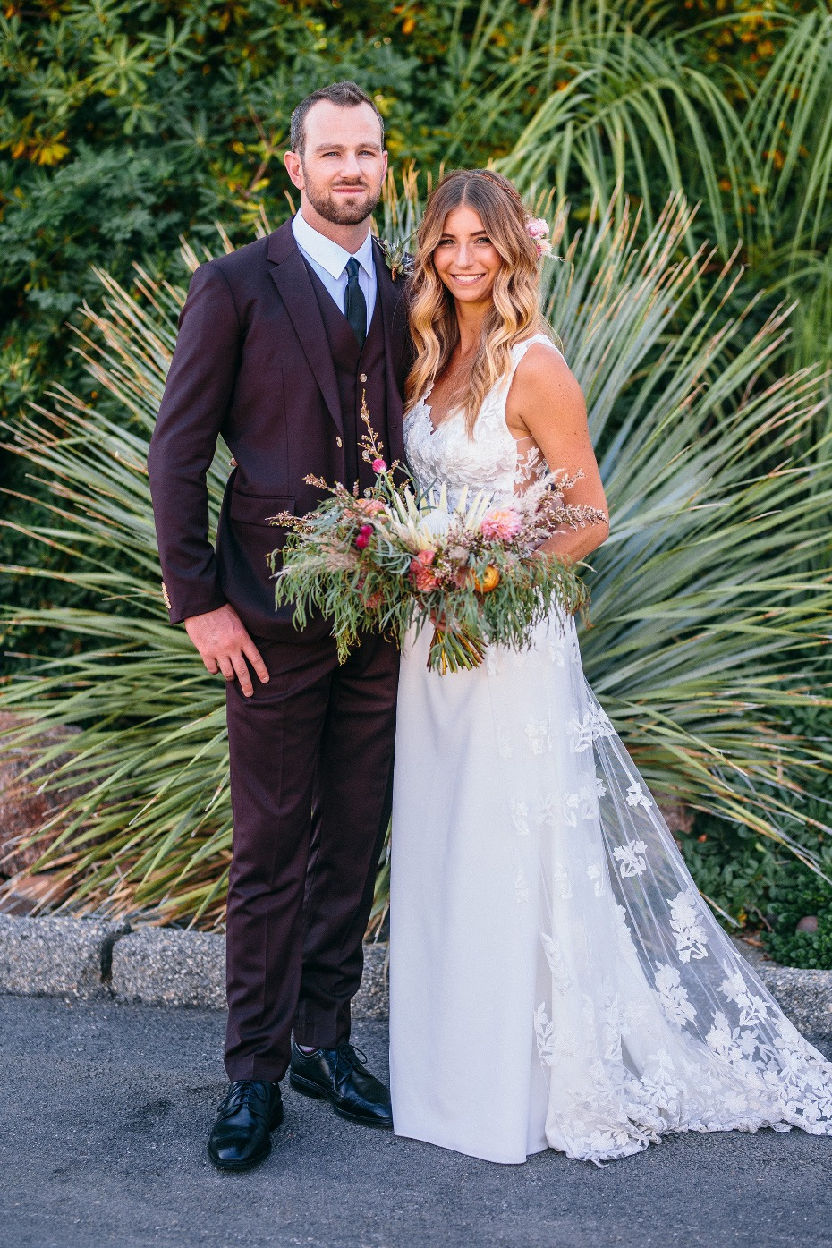 Stylish Palm Springs wedding