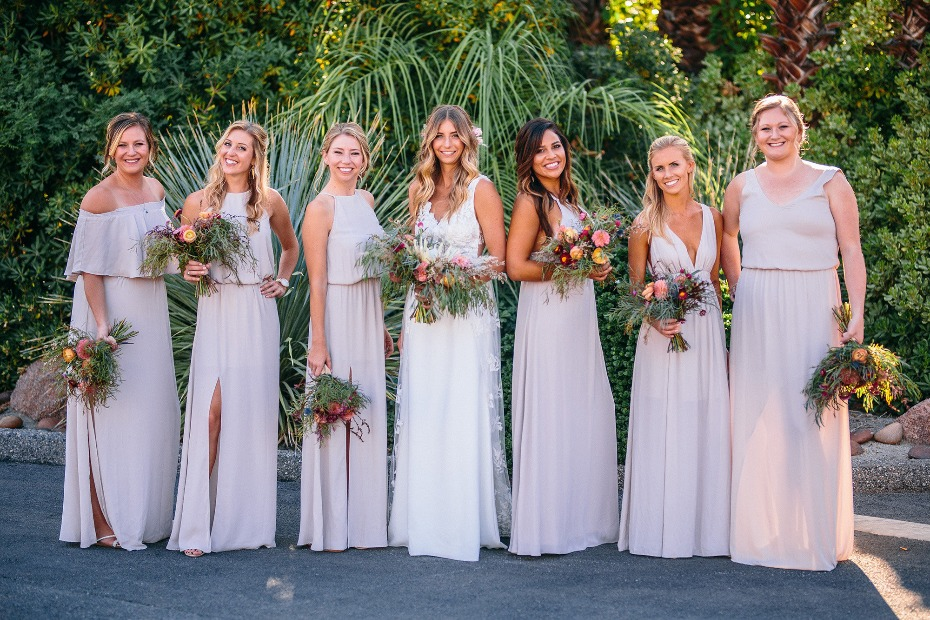 Elegant Palm Springs wedding