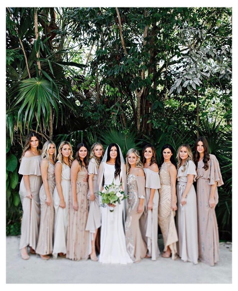Can't take all this beauty!! Aren't all gorgeous!? Wedding fashion goals ⭐️