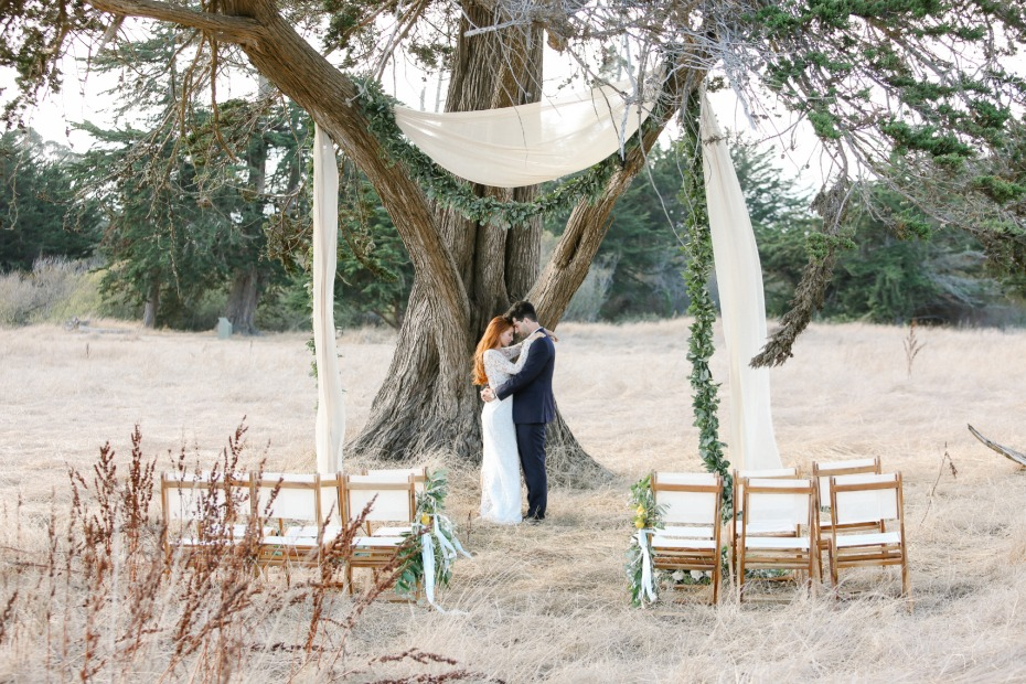romantic wedding idea for your big day at the Dream Inn Santa Cruz