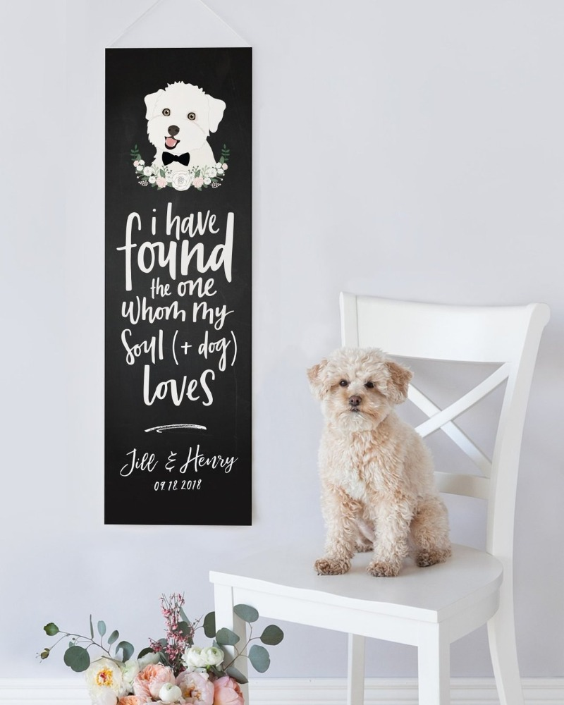 We can't get over how CUTE this banner is! If you're looking for that chalkboard feel with an adorable quote, Miss Design Berry can