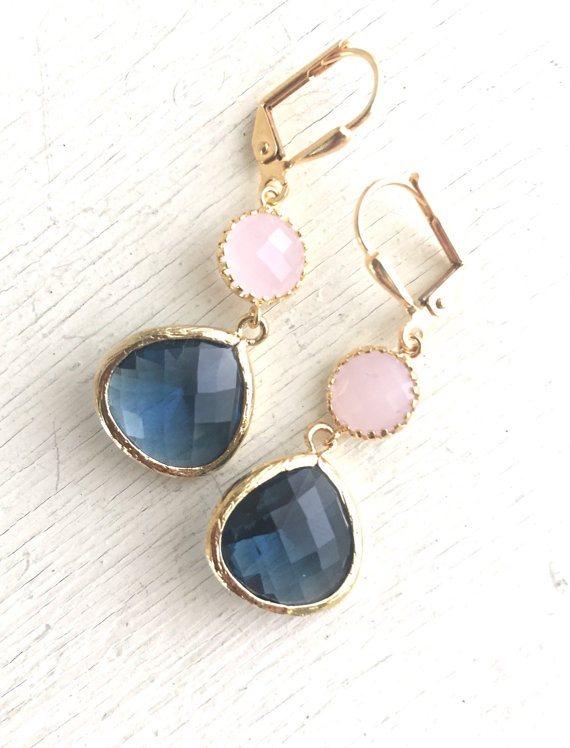 These earrings are stunning and elegant and would be beautiful for any occasion.