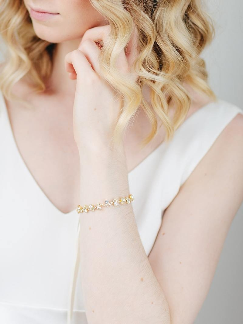 For your big day, or for your bridesmaids! The Cleo Cuff is prized for its versatility.