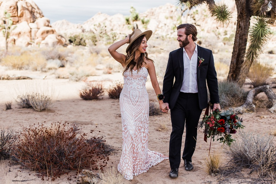 you and me in Joshua Tree