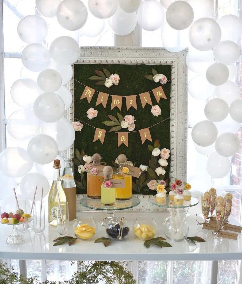 Mimosa Bar Bridal Shower