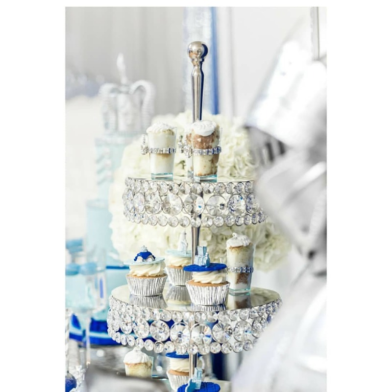 Desserts that Dazzle!! Opulent Treasures Bling Dessert Stands are a gorgeous collection that will create a stunning display for your