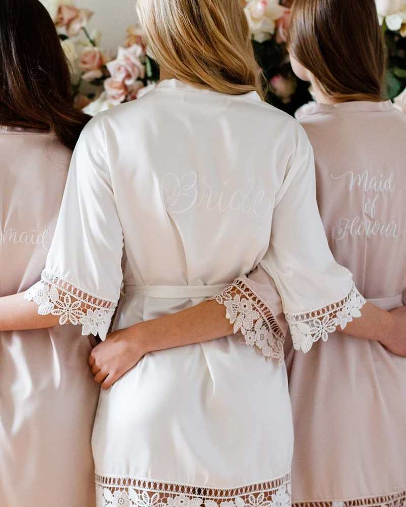 Your favourite #LeRose 'Lauren Lace Robe' is now available