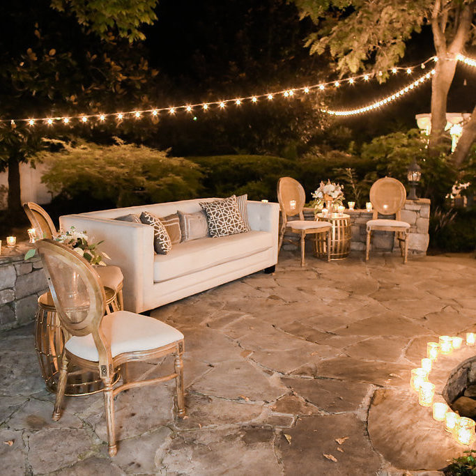 Fancy a lounge area for your upcoming nuptials? Lounge under the Southern Stars in our garden! We're offering $1,000 in wedding upgrades