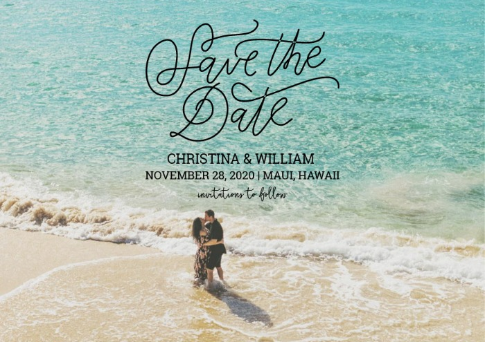 graphic about Free Printable Save the Date referred to as Print - Cost-free Printable Picture Conserve The Day Card
