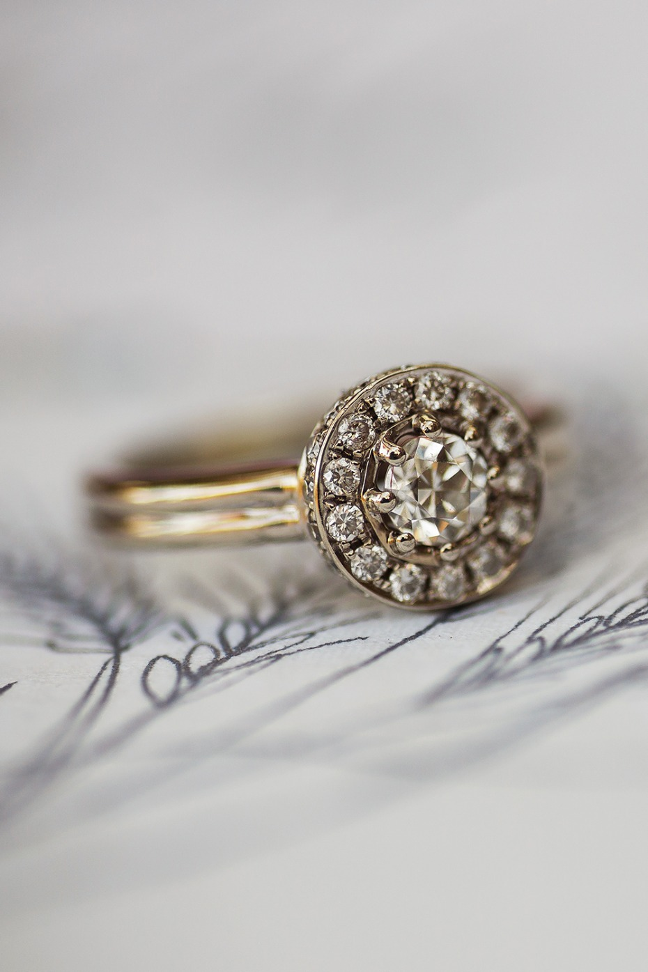 vintage engagement ring