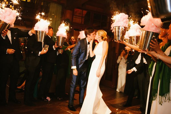 Sparklers have been making wedding exits glamorous and unforgettable for years…. but what about the grand entrance? Many couples